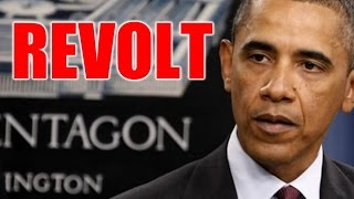 Stunner: Pentagon in Secret Revolt Against Obama
