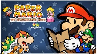 ⭐️Paper Mario: The Thousand Year Door⭐️ (GCN) - Chapter 1 - Petal Meadows & Hooktail Castle - #2