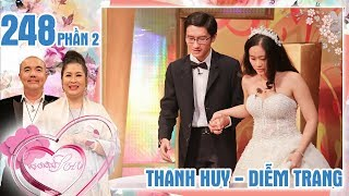 The husband tetchily tells the story of the noisy wedding night| Thanh Huy - Diem Trang | #248