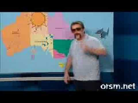 Ronnie Johns-Chopper doing the weather