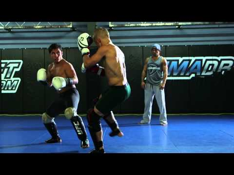 UFC 177 TJ Dillashaw First Day at Team Alpha Male