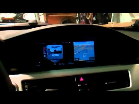 BMW E90 video integration with iPhone