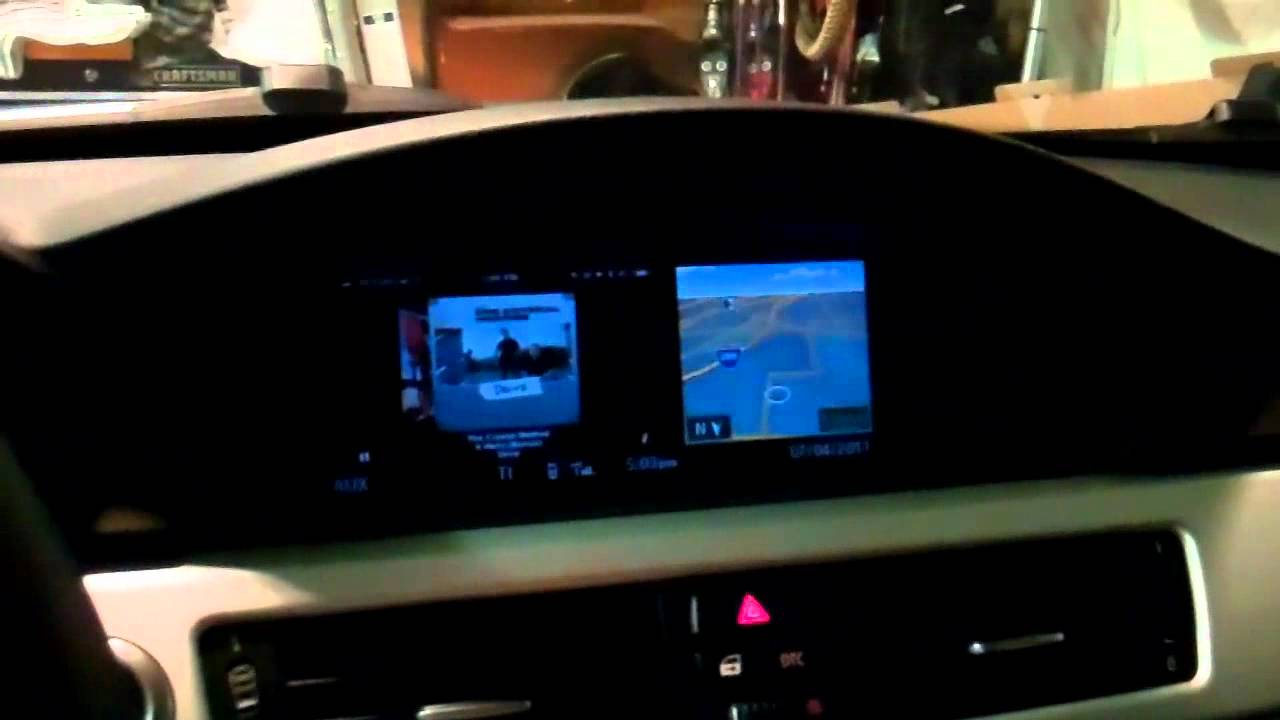 Bmw E90 Video Integration With Iphone Youtube