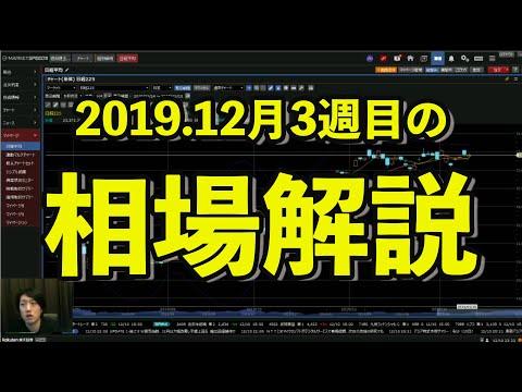 2019.12月3週目の相場解説【週イチ株予報】