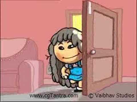 Chulbuli -clinic Plus Animation Commercial By Vaibhav Studio video