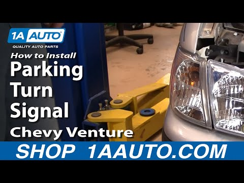 How To Install Replace Parking Turn Signal Chevy Venture Pontiac Montana 97-05 1AAuto.com