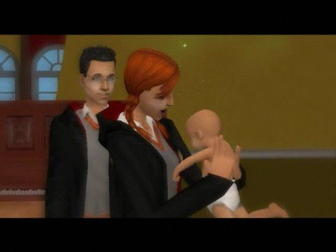 harry and ginny in love sims 2 style youtube