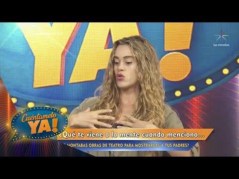 ¡Conoce más de Candela Márquez y su personaje en Like la leyenda! | Cuéntamelo YA!