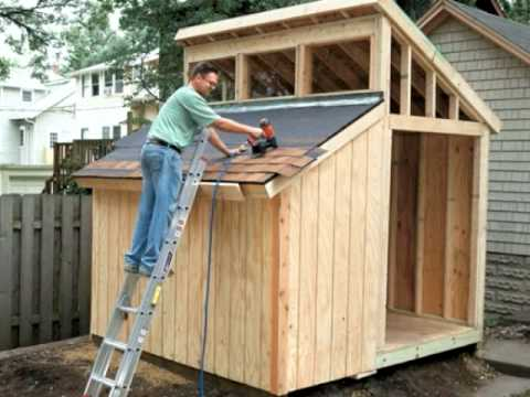 Building a clerestory shed video home plans and more for Clerestory windows cost