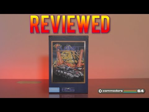 Planet X2 - A game by The 8-Bit Guy for the Commodore 64 - Reviewed!