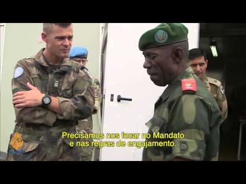 UN MONUSCO Force Comdr. Gen. Santos Cruz in DR Congo (HD PTBR subs)