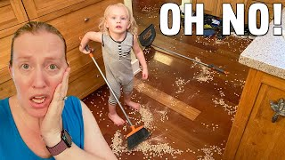 Huge Kitchen Disaster, GIANT EEL & Owen Picks up BUGS!