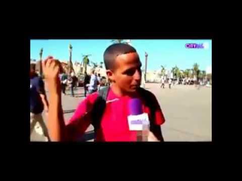 شاب مغربي يرحب بمرض إيبولا بالمغرب