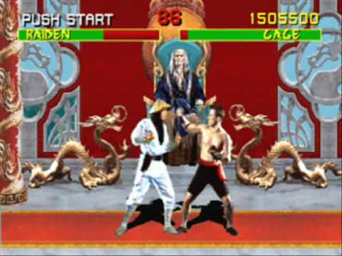 Mortal Kombat arcade Johnny Cage 1/2