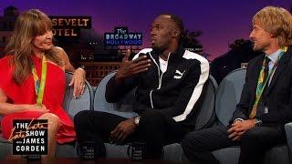 Athletic Feats w/ Allison Janney, Owen Wilson & Usain Bolt