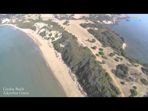 Gerakas Beach Vassilikos Zakynthos by GoZakynthos