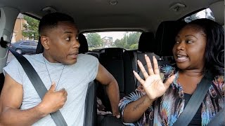 Jamaican teaches his Trini girlfriend to drive