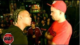AHAT Rap Battle | Emerson Kennedy vs Lefty 2 Guns