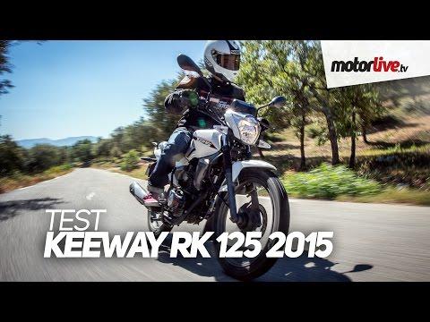 TEST   KEEWAY RK 125