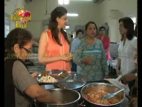 Kajal Agarwal Celebrates Her Birthday With Ngo Oldage Home 'anand Niketan' video