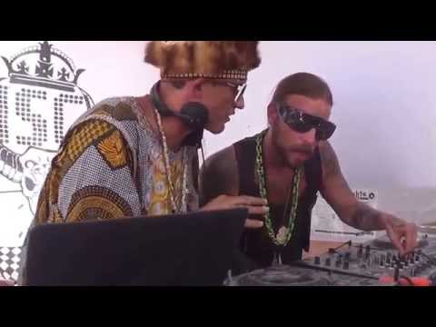 Art Department vs. Thugfucker - Disco Knights - Burning Man 2014