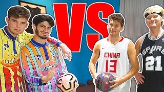 Whats Better...Basketball or Soccer?