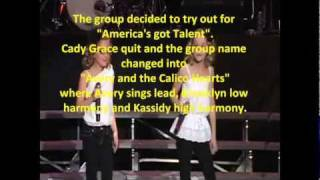 Avery and the Calico Hearts-The Story before America's got Talent
