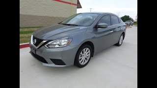 2017 Nissan Sentra SR CVT,In House Finance,Used Cars (Princeton, Texas)