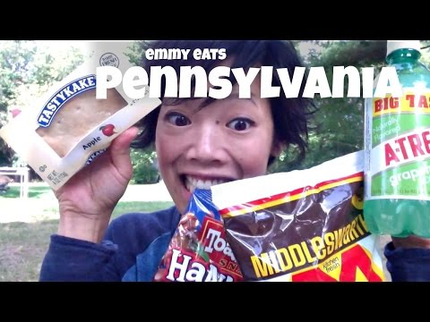 Emmy Eats Pennsylvania