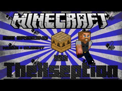 (Mindcrack Pack 1.4.7) Minecraft FTB Bee Breeding Tutorial: Diligent, Unweary, Industrious, ...