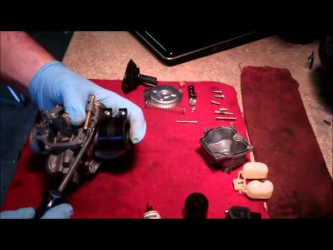 Carburetor Tear Down And Cleaning 2005 Honda Metropolitan (CHF50) Scooter