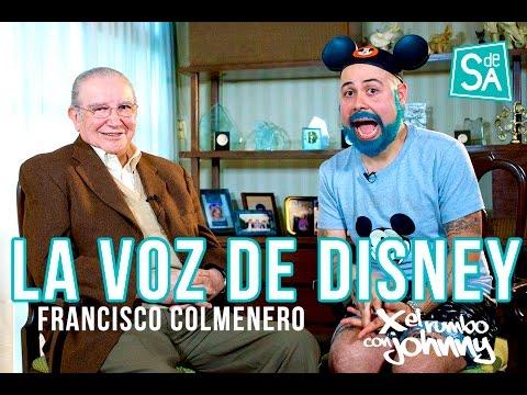 Francisco Colmenero la voz de Disney en #XelRumbo con Johnny Carmona en Servicio De Agencia