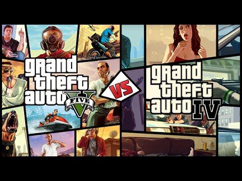 [GTA 5 vs GTA 4] Grand Theft Auto V против Grand Theft Auto IV