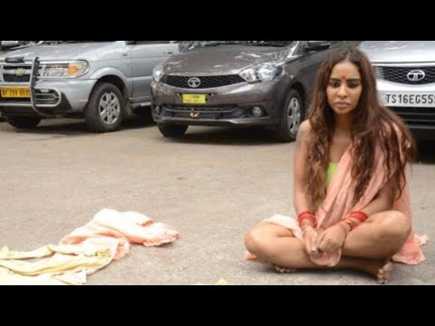 Starlet Sri Reddy Strips Down On Streets To Protest | SpotboyE