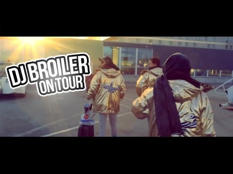 DJ Broiler // On Tour // Episode 1 - Haugesund
