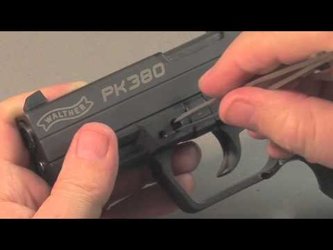 Disassembly Walther Pk380 Walther Pk380 Review pt 1