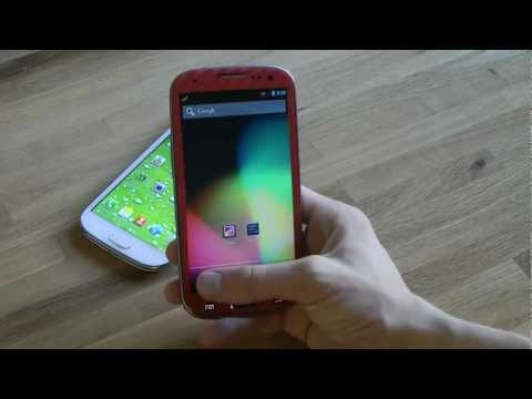 CyanogenMod 10 For Samsung Galaxy S3 Android 4.1.1 Jelly Bean