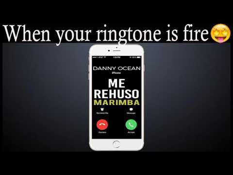 Latest iPhone Ringtone - Me Rehuso Marimba Remix Ringtone - Danny Ocean
