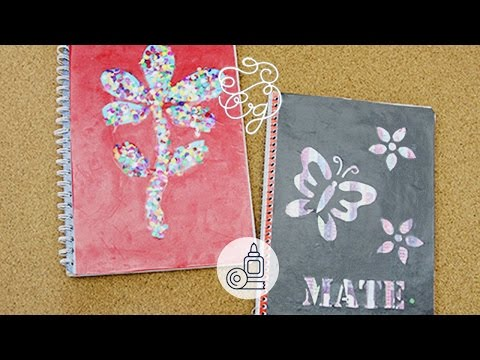 Decoración linda para tus cuadernos | Craftingeek*