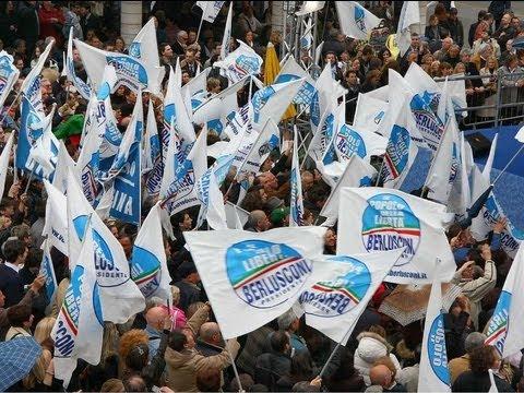 Roma, la manifestazione del PdL in DIRETTA