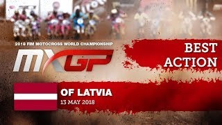 Jeffrey Herlings & Antonio Cairoli Impressive Action - MXGP of Latvia 2018 #motocross