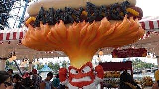 Pixar Pier Disneyland - OPENING DAY Walkthrough