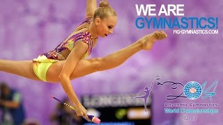 KUDRYAVTSEVA Yana (RUS) - 2014 Rhythmic Worlds, Izmir (TUR) - Qualifications Clubs