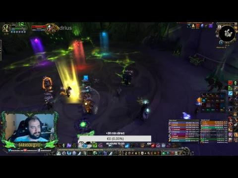 World of Warcraft | M+ con SUSCRIPTORES - DK ESCARCHA - FARMEO DE AP
