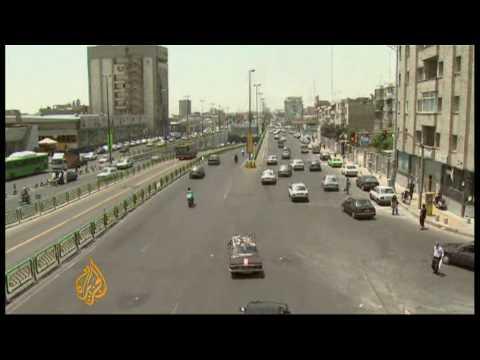 Al Jazeera returns to streets of Tehran - 01 July 09
