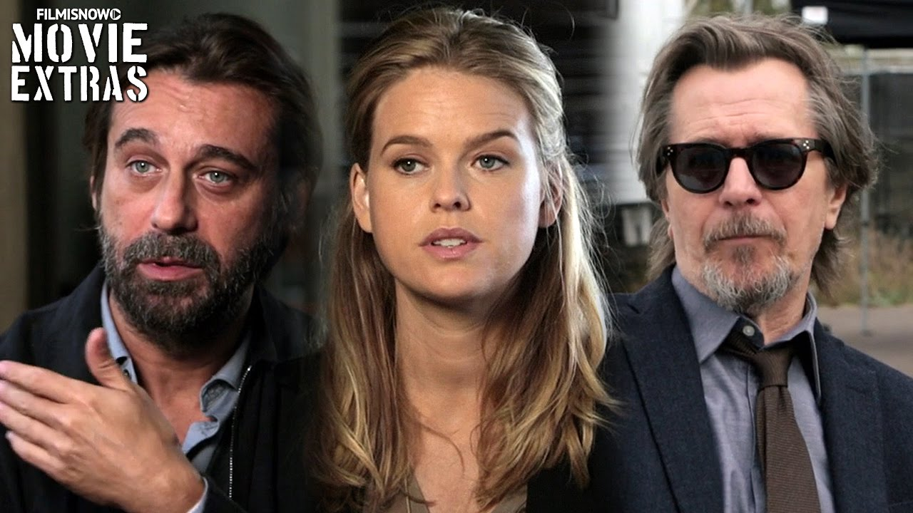 Criminal | On-Set with Gary Oldman, Alice Eve & Jordi Molla [Interview]