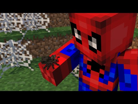 Майнкрафт ЧЕЛОВЕК ПАУК БЕЗ МОДОВ - Minecraft Spiderman
