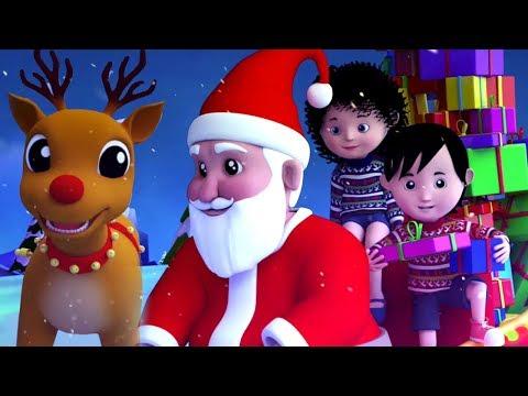 cascabeles en español | navideñas rimas | villancicos | Papá Noel canción | Jingle Bells in Spanish