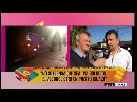 TDM - JUAN JOSE RAINOLDI - ALCOHOL CERO PUERTO IGUAZU 010819