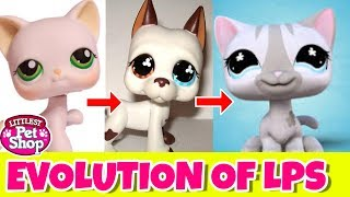 The evolution of LPS - Hasbro Generation 1 and 2 ( A history of littlest pet shop )